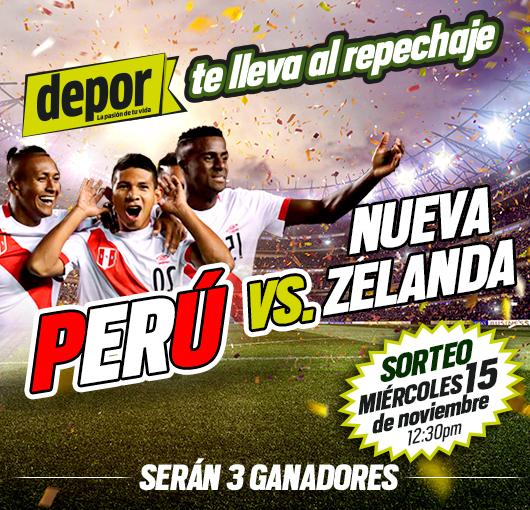 Sorteo entradas Perú & NZ