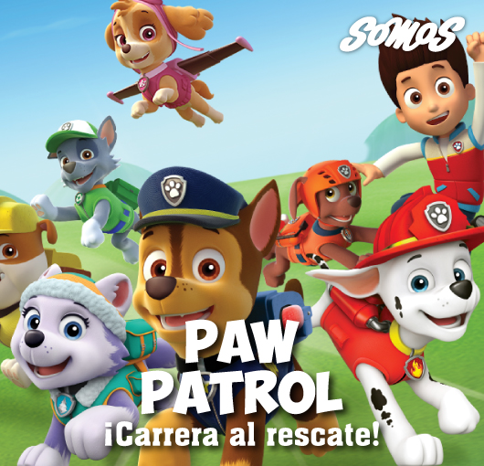 Paw Patrol:¡Carrera Rescate!